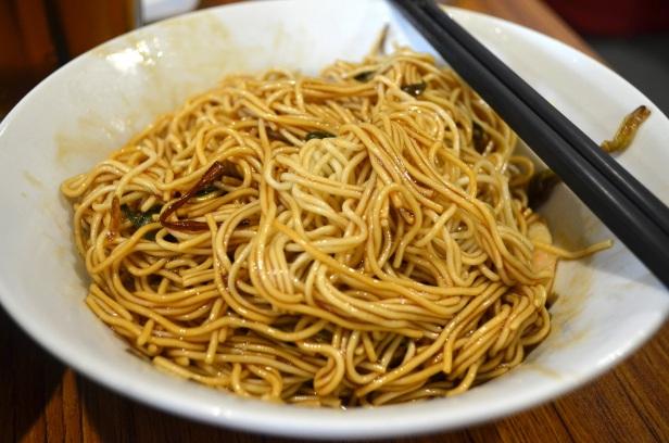 House of Haos Jian Guo 328 Shanghai China Scallion Noodles