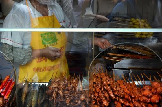 House of Haos Jinli Walking Street Chengdu Sichuan China BBQ Skewers