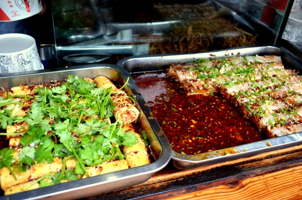 House of Haos Jinli Walking Street Chengdu Sichuan China Tofu Mung Bean Jelly Rolls