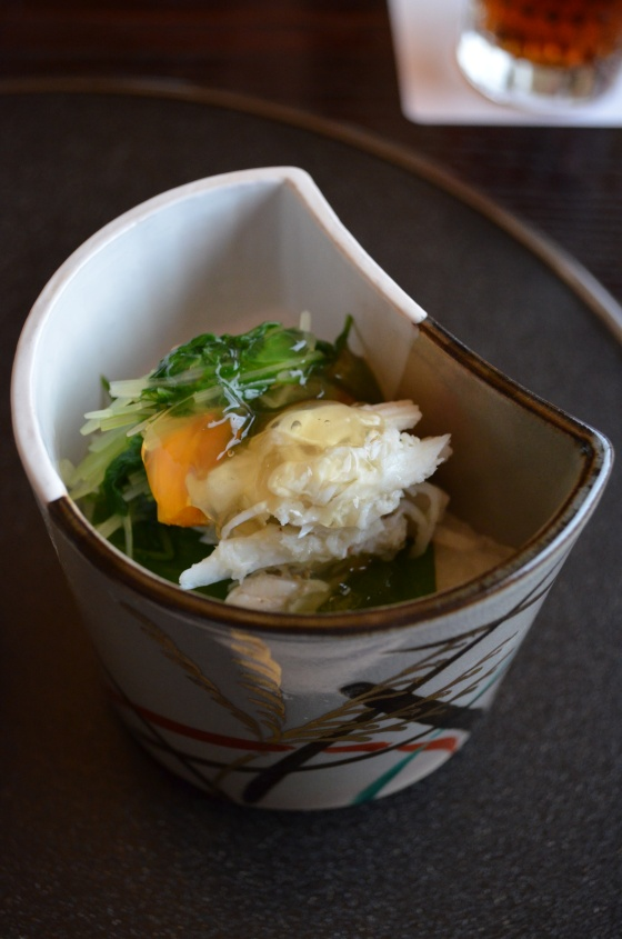 House of Haos Kashiwaya Osaka Japan Crab Salad