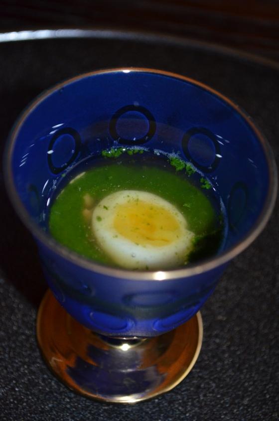 House of Haos Kashiwaya Osaka Japan Egg Yuzu Drink