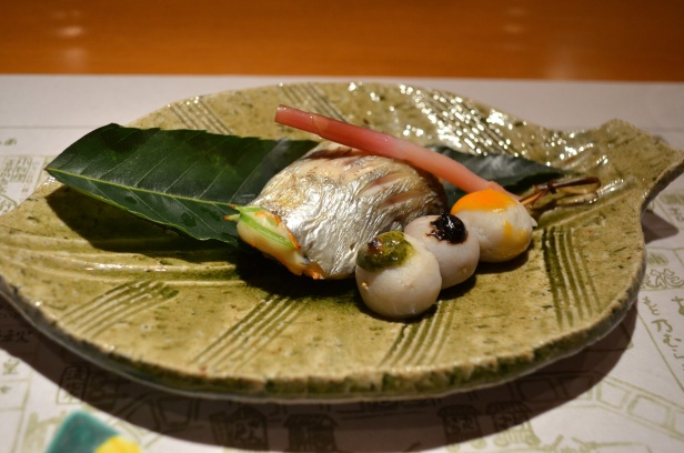 House of Haos Kigawa Osaka Japan Butterfish Matsukake Mushroom Tofu 1