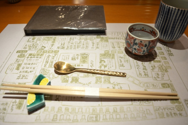 House of Haos Kigawa Osaka Japan Place Setting