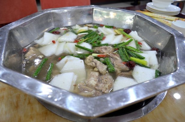 House of Haos Ma Lao Liu Halal Lanzhou China Mutton Daikon Hotpot