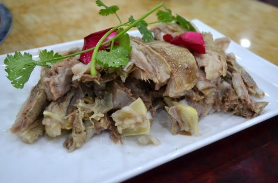House of Haos Ma Lao Liu Halal Lanzhou China Mutton