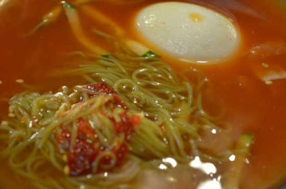 House of Haos Mapo Galmaegi Seoul Korea Naengmyeon 2