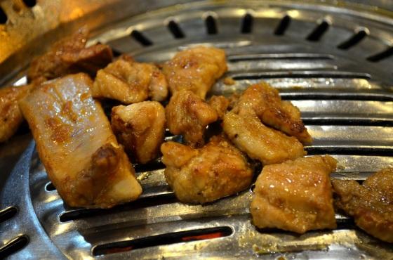 House of Haos Mapo Sutbul Galbi Gangnam Seoul Korea Pork Galbi 2