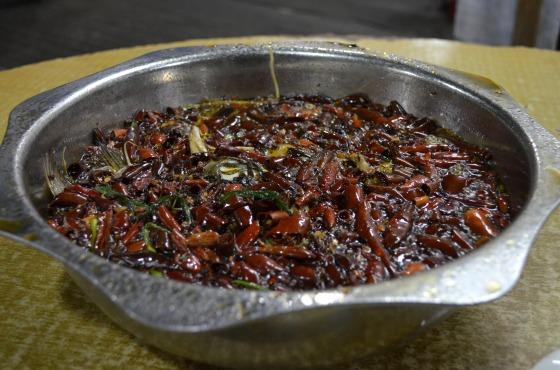 House of Haos Ming Ting Chengdu Sichuan China Chili Fish