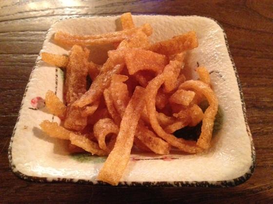 House of Haos Miss Zhao Shanghai Pork Rinds