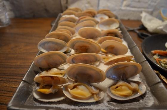 House of Haos Miss Zhao Shanghai Salt Baked Clams