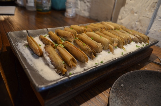 House of Haos Miss Zhao Shanghai Salt Baked Razor Clams