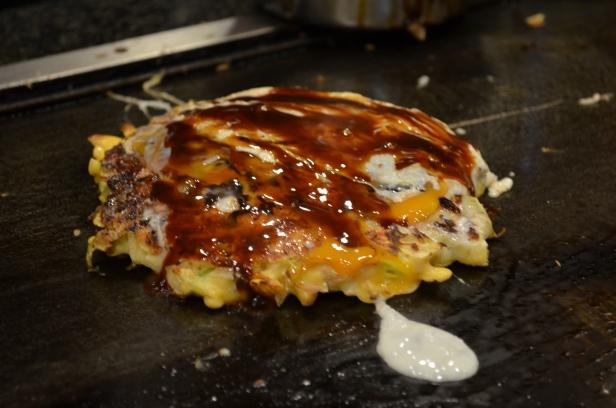 House of Haos Mizuno Okonomiyaki Osaka Japan Seafood