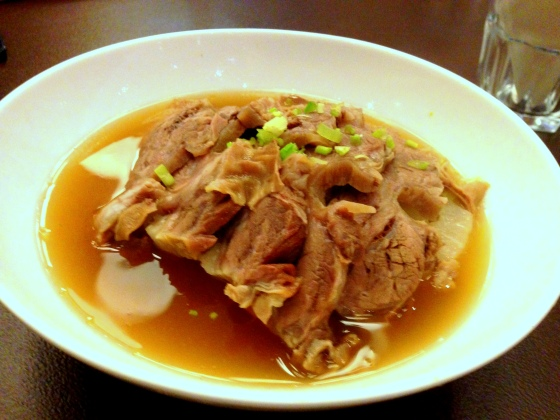 House of Haos Molokai Shanghai China Beef Brisket Daikon Soup