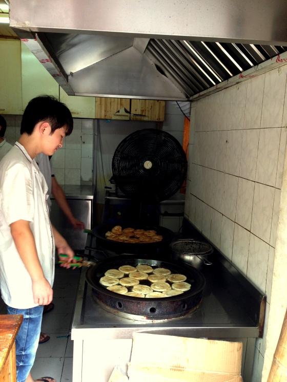 House of Haos Mushi Special Scallion Pancakes Shanghai 2