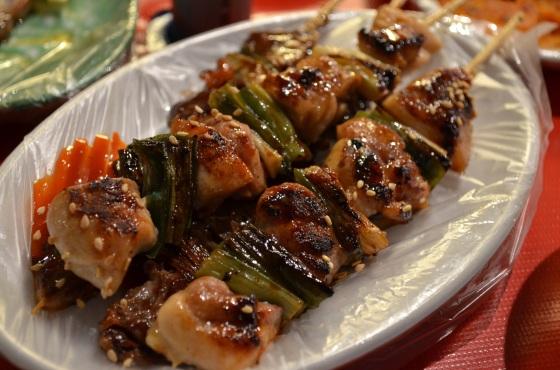 House of Haos Namdaemung Market Seoul Korea Chicken Skewers