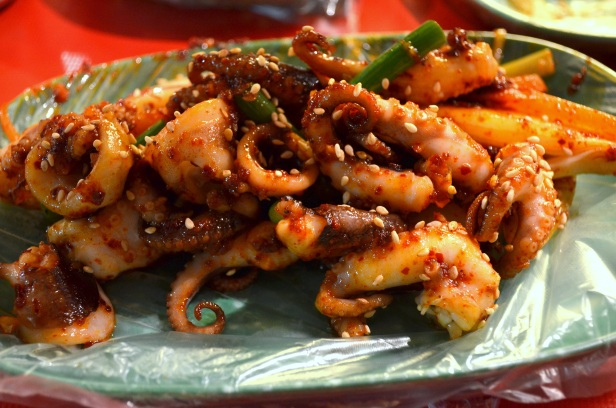 House of Haos Namdaemung Market Seoul Korea Octopus