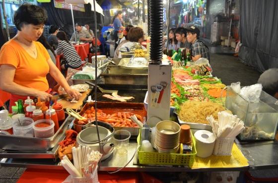House of Haos Namdaemung Market Seoul Korea Street Food Stall