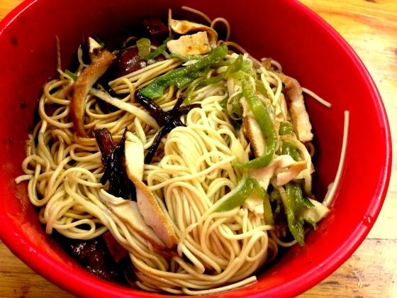 House of Haos Nong Tang Wontons Jingan Shanghai China Scallion Noodles 1