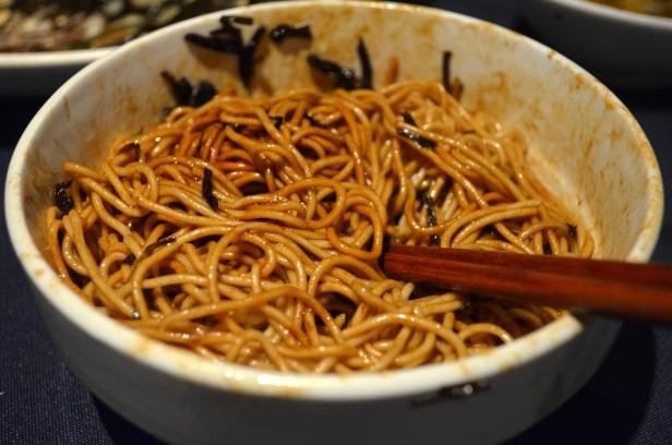 House of Haos Old Jesse Xujiahui Shanghai China Scallion Noodles