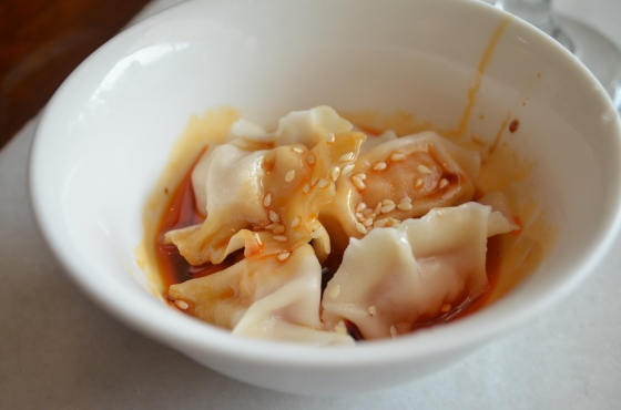 House of Haos Shun Xing Shanghai China Red-oil dumplings