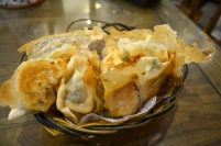 Three delicacies potstickers