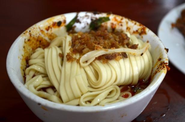 House of Haos Xiao Tan Tofu Chengdu Sichuan China Dan Dan Noodles