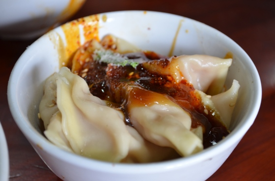House of Haos Xiao Tan Tofu Chengdu Sichuan China Spicy Dumplings