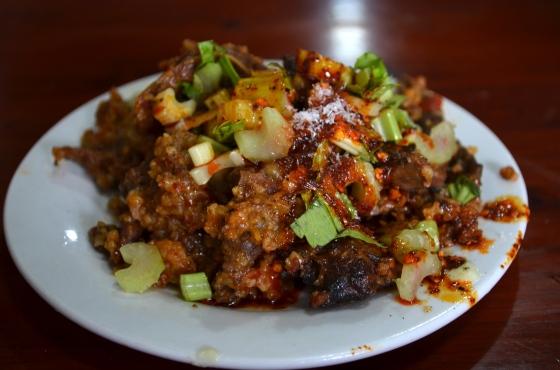 House of Haos Xiao Tan Tofu Chengdu Sichuan China Steamed Beef