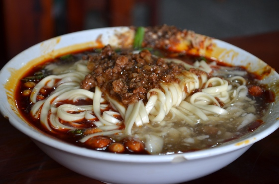 House of Haos Xiao Tan Tofu Chengdu Sichuan China Tofu Noodles