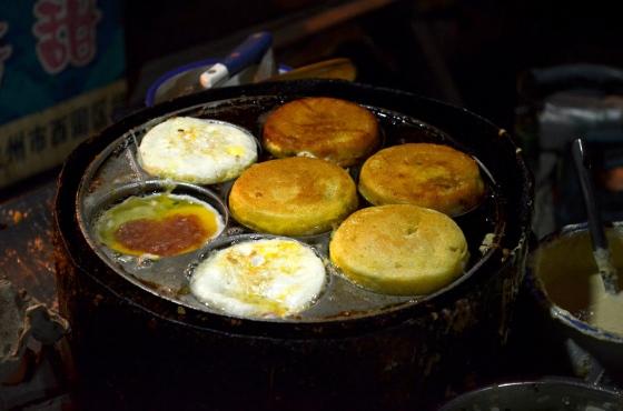House of Haos Zheng Ning Night Market Lanzhou China Cornmeal Buns 2