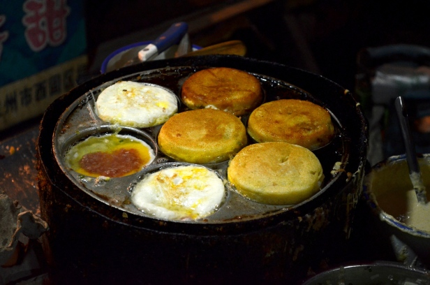 House of Haos Zheng Ning Night Market Lanzhou China Cornmeal Buns 2