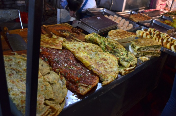 House of Haos Zheng Ning Night Market Lanzhou China Flatbreads