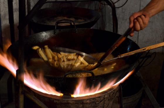 House of Haos Zheng Ning Night Market Lanzhou China Fried Potatoes 2