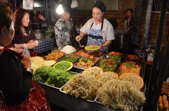House of Haos Zheng Ning Night Market Lanzhou China Noodle Stand