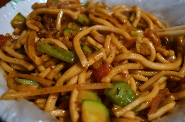 House of Haos Zheng Ning Night Market Lanzhou China Stir-fried Noodles