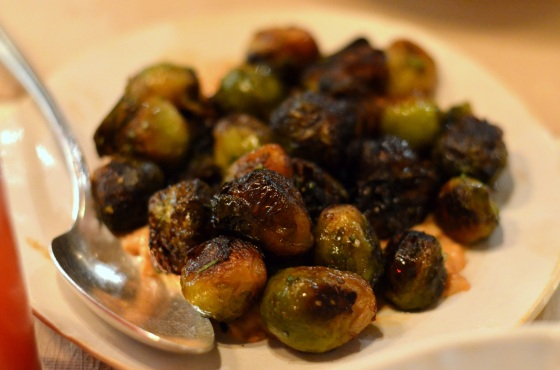 House of Haos ABC Kitchen New York City Roasted Brussels Sprouts