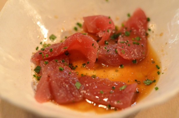 House of Haos ABC Kitchen New York City Tuna Sashimi