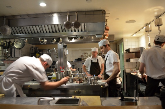 House of Haos Aldea New York City Open Kitchen