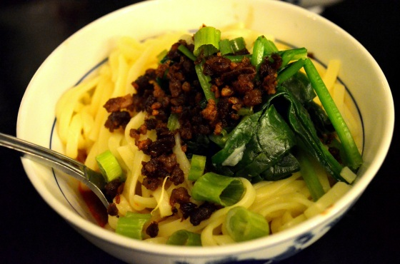 House of Haos Cafe China New York City Dan Dan Noodles