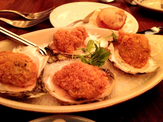 House of Haos Commerce West Village NYC New York Fried Oysters Remoulade Sauce