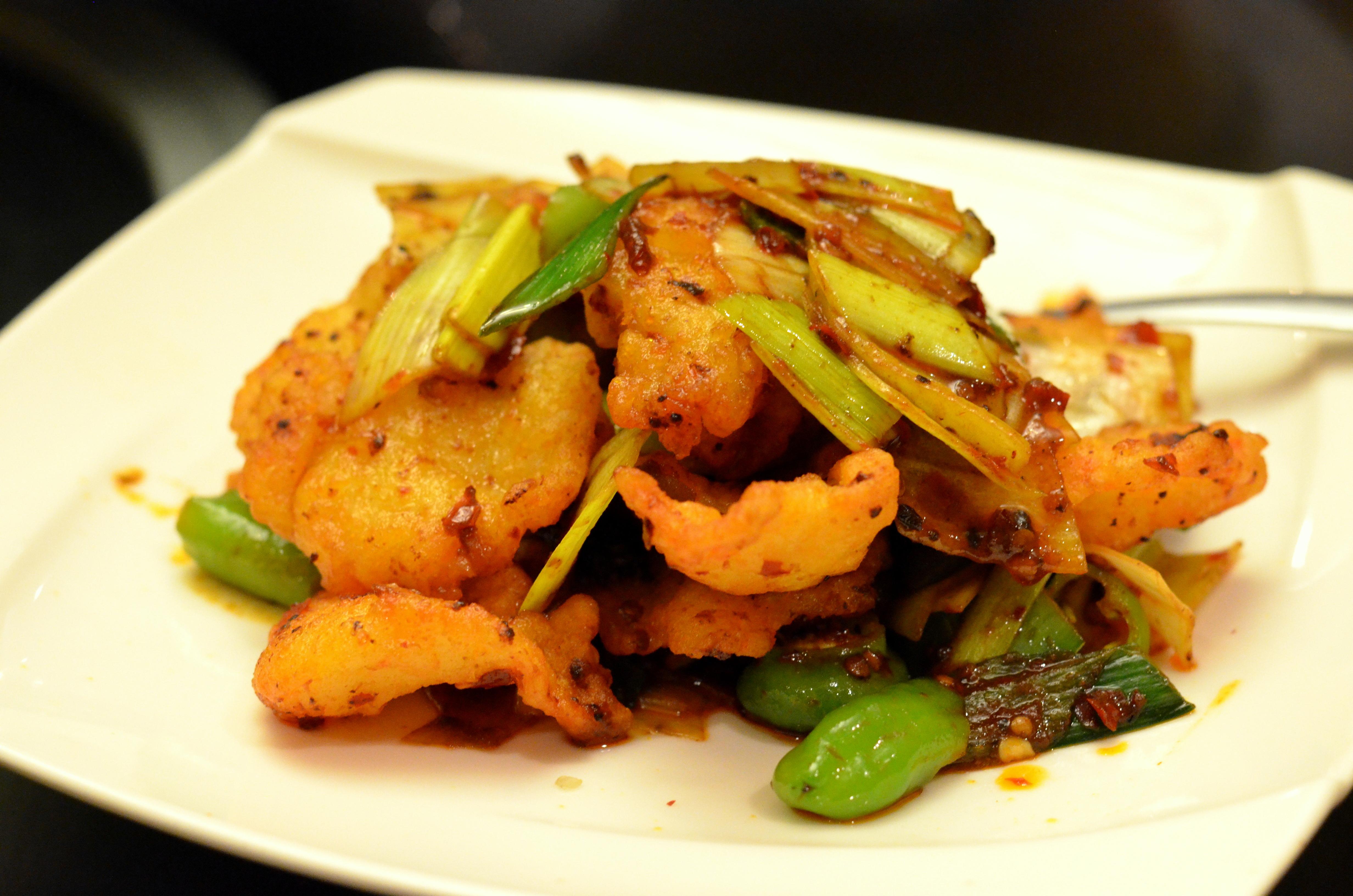Tasting menu at han dynasty east village house of hao 39 s for Eastside fish fry menu