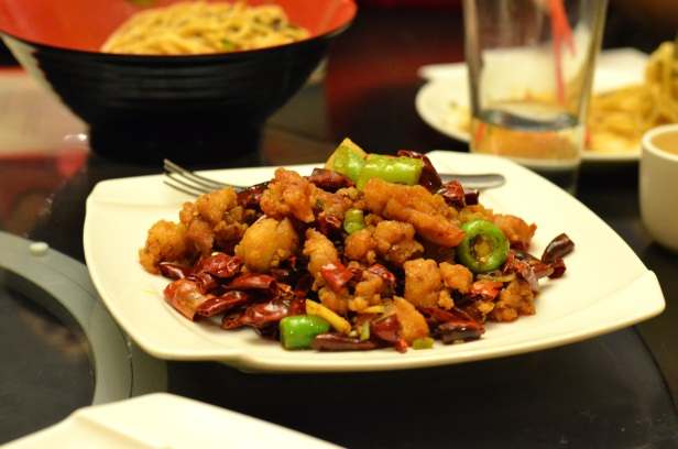 House of Haos Han Dynasty New York City Dry Pepper Style Fried Chicken