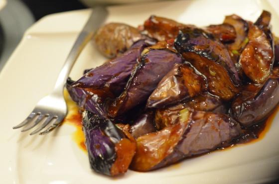 House of Haos Han Dynasty New York City Fish-Fragrant Eggplant