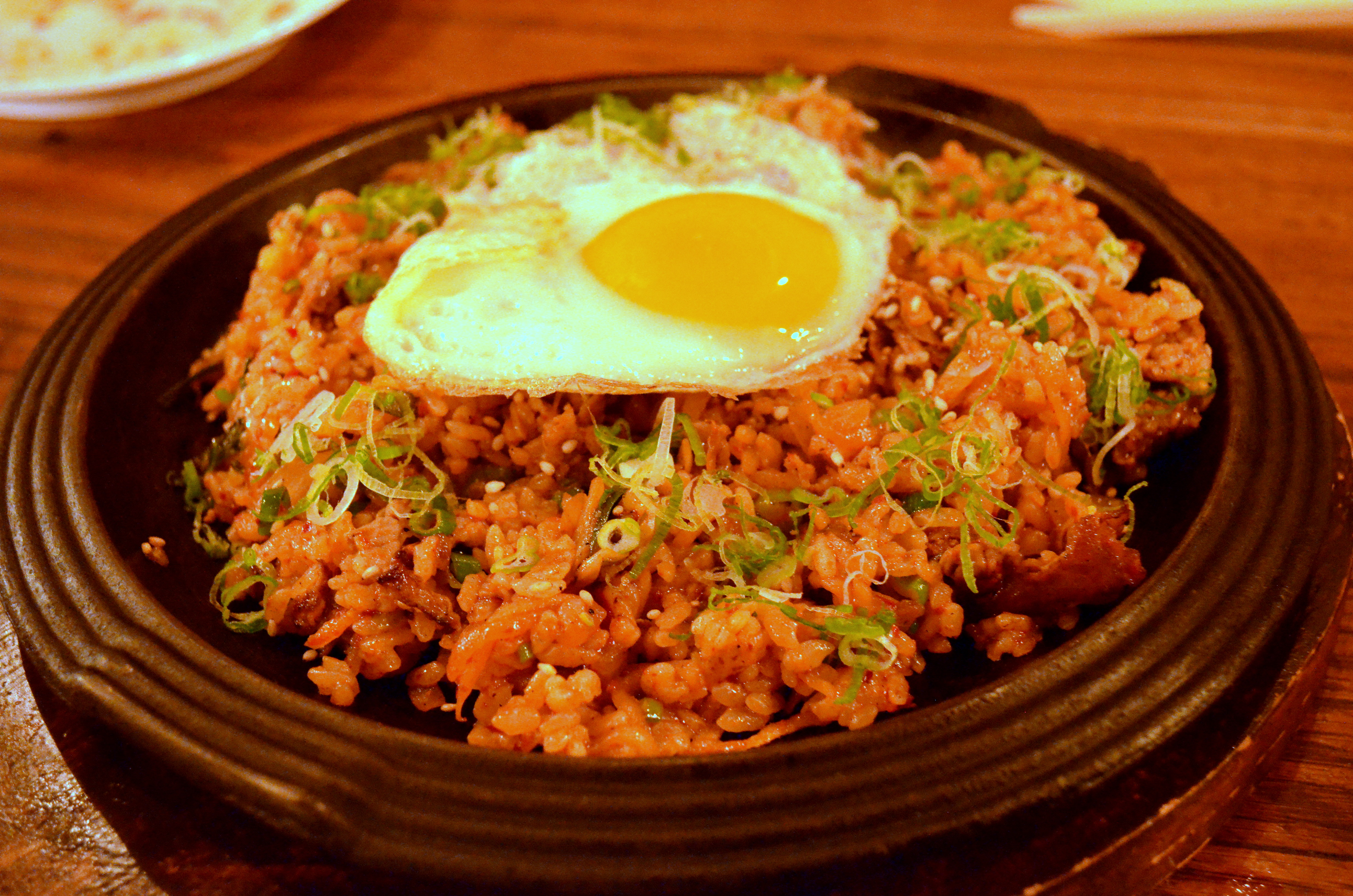 kimchi fried rice Kimchi or kimchee is a korean side dish made by fermenting cabbage, along with korean chili peppers and spices it is a spicy, pungent dish that people either.