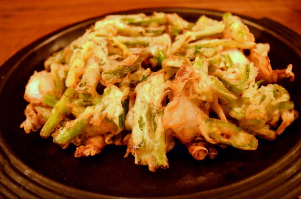 House of Haos Hanjan New York City Scallion Pancake Squid