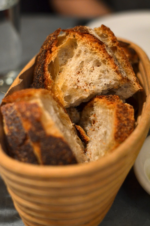 House of Haos Il Buco Alimentari and Vineria Noho New York Bread Basket