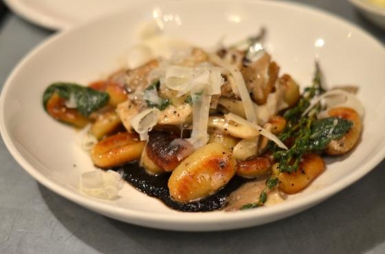 House of Haos Il Buco Alimentari and Vineria Noho New York Roasted Mushroom Gnocchi