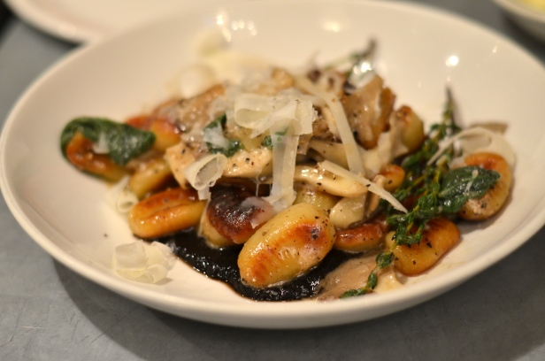 House of Haos Il Buco Alimentari and Vineria Noho New York Roasted Mushroom Gnocchi