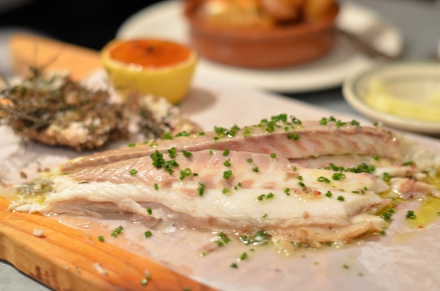 House of Haos Il Buco Alimentari and Vineria Noho New York Salt-baked Branzino 2