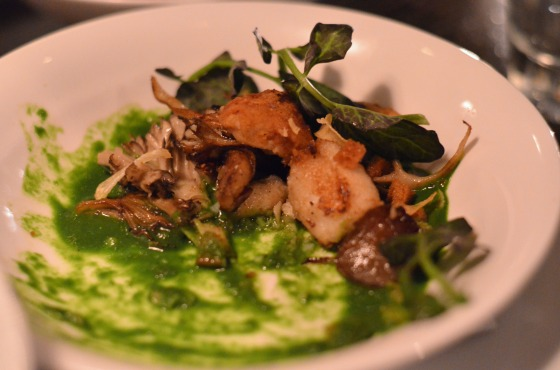 House of Haos Le Philosophe New York City Frog Legs Hen of the Woods